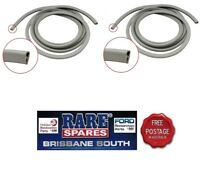 2 X  DOOR OPENING PINCHWELD GREY HOLDEN HD HR HK HT HG SEDAN WAGON UTE & VAN