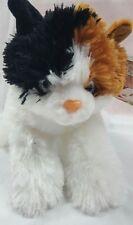 NWT People Pals Safeway Calico Cat Kitten Plush Stuffed Animal White Tan Black