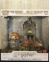 Funko Pop Town  Harry Potter The Burrow And Molly Weasley 2020  Nycc Exclusive