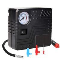 Portable Air Compressor Pump 150 Psi-Dc 12V Auto Tire Inflator Gauge Car Pu E3V4