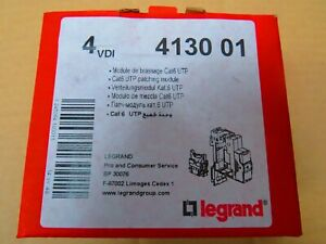 Legrand 413001  Cat6 UTP patching modules