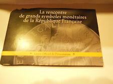 Livret de pièces de 10 euros argent GRANDS SYMBOLES MONETAIRES DE LA R F