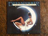 "Donna Summer ""Four Seasons Of Love"" Oz Astor Press W/ Lyric Insert, VG+/Ex Con"