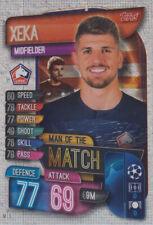 Topps Match Attax Champions League 19 20 2019 2020 M LIL  Xeka Man of the Match