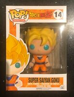 Pop! Vinyl Dragon Ball Z Super Saiyan Goku #14 Collectible Toy Figure In Box NEW