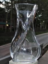 "Pristine Baccarat SERPENTIN 8"" Vase ***MSRP $690***"