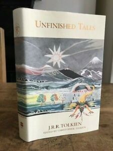J R R Tolkien UNFINISHED TALES Hbk Dj Map included