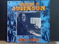 JAMES P. JOHNSON  1921-1928   LP  NEAR-MINT !!