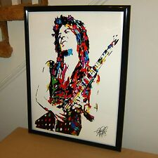 Randy Rhoads Ozzy Mr Crowley Guitar Hard Rock Music Poster Print Wall Art 18x24