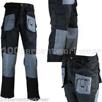 1x Pair Blackrock Workman Mens Cargo Combat Work Trousers Pants Knee Pad Pockets