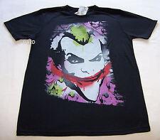 Batman Arkham City Joker Mens Black T Shirt Size S New
