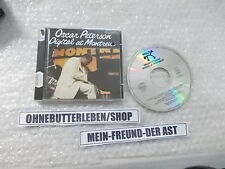 CD Jazz Oscar Peterson - Digital at Montreux (7 Song) PABLO LIVE cut-out