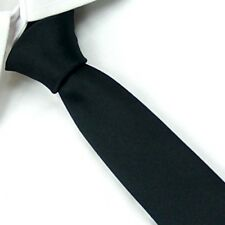 New Casual Slim Plain Mens Solid Skinny Neck Party wedding Tie Silk Necktie SK