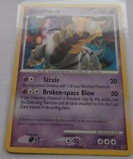 Carte Pokemon Giratina 100 pv Platine rare !!!