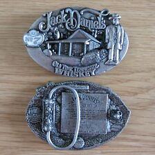 Jack Daniel's whiskey belt buckle (choice designs)