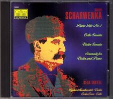 Seta TANYEL Lydia MORDKOVITCH: SCHARWENKA Piano Trio Violin Cello Sonata CD