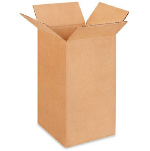 100 8x8x14 Cardboard Paper Boxes Mailing Packing Shipping Box Corrugated Carton