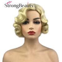 Blonde Fingerwave Wavy 1920s 1930s The Great Gatsby Roxie Flapper Wig for Women
