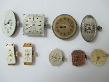 (9) Assorted Watch Movements