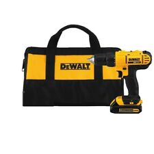Dewalt 20V Max Cordless Lithium-Ion 1/2 inch Compact Drill Driver with Case