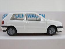 """Wiking/Volkswagen (18b) VW Golf III GL (1991) """"Sachsen"""" in weiß 1:87/H0 NEU/OVP"""