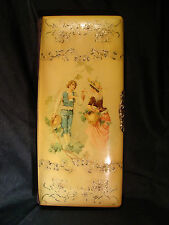 Victorian Celluloid Photo Album Lovers on Cover Priest and Monk Photo's