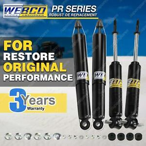 Front Rear Webco Shock Absorbers for HOLDEN TORANA LH LX UC SLR 5000 Sdn Hatch