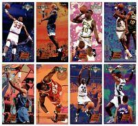 🔥🏀1993-94 Fleer NBA JAM Session Slam Dunk Heroes - Set of 8 Cards RARE & HOT!