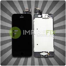 Display für iPhone 5 mit RETINA LCD Glas VORMONTIERT Komplett Front SCHWARZ TOP