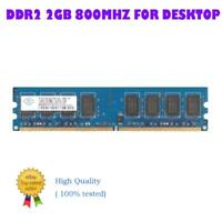 For Nanya 2GB 240-Pin PC2-6400 800MHz DDR2 Desktop Memory RAM CHIP NON-ECC LOT