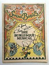 1979 Sugar Babies Burlesque Musical Program - Mickey Rooney Ann Miller Autograph