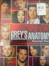 NEW Greys Anatomy Season Four Expanded DVD Widescreen