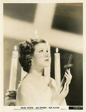 HELEN WOOD 30s VINTAGE PHOTO ORIGINAL