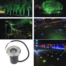 1W COB Waterproof Outdoor In Ground Underground Garden Path Spot Landscape Light