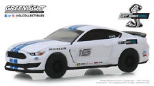 1:64 GreenLight *HOBBY* WHITE 2016 Ford Mustang Shelby GT350 Racing School *NIP*