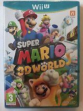 Super Mario 3D World Wii U Sigillato 1a Stampa Italiana No Import No Selects