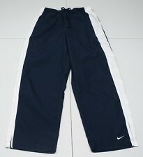 Nike Womens XS Blue Polyester Unlined Croped Capri Athletic Pants NWOTs
