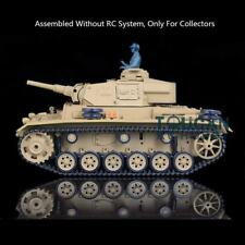 US Stock 1/16 German Panther III H Henglong Static Plastic Tank 3849 Model