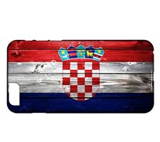Coque iPhone 7 Drapeau CROATIE 02