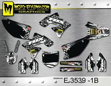 Kawasaki KX 250f 2009 up to 2012 graphics decals kit Moto StyleMX