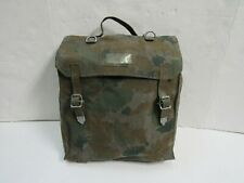 Early East German Blumentarn Camo Field Pack Nva Ddr 1965 Dated No Straps