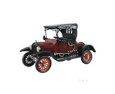 "Red 1920s Ford Model T Tin Lizzie Metal Car Model 11.5"" Classic Automobile Decor"