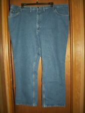 LEE BLUE JEANS 52x30  MEN'S STRAIGHT LEG CLASSIC REGULAR FIT GENTLY WORN