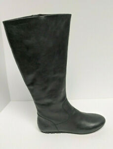 Born Indre Knee High Riding Boots, Black Leather, Women's 10 M