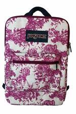 "New JanSport SuperBreak Tablet 15"" Laptop Sleeve Backpack Bag Berrylicious"
