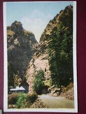POSTCARD USA COLORADO SOUTH CHEYENNE CANYON - HERCULES PILLAR