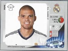 PANINI UEFA CHAMPIONS LEAGUE 2012-13- #231-REAL MADRID-PEPE