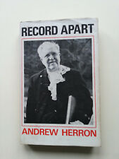 Record Apart by Andrew Herron, Moderator of the General Assembly Church Scotland