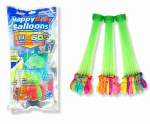 Water Balloons Pack of 111 Self-tying Water Bombs Summer Outdoor Party Kid Adult