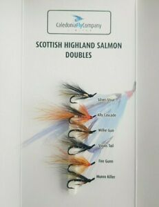 Salmon Doubles Sea Trout Flies Fly Fishing